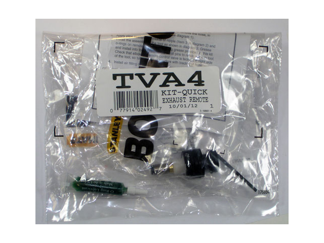 Stanley Bostitch QUICK EXHAUST REMOTE Kit # TVA4