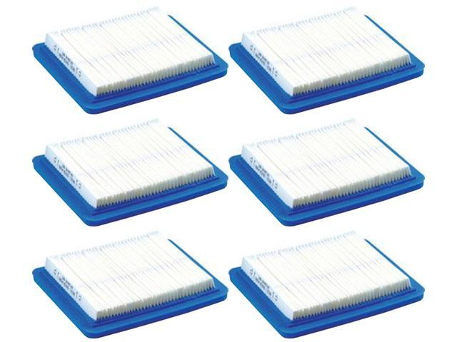 Briggs & Stratton (6 Pack) 491588S Flat Air Filter Cartridge # 491588B-6pk