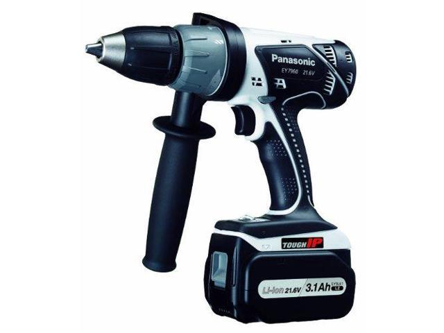 Panasonic EY7960LZ2S 21.6-Volt IP56 Li-ion Hammer Drill & Driver Kit