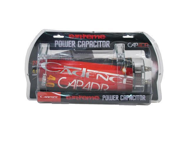 Cadence Acoustics United Series CAP4DR, 4 Farad 24 Volt Capable Extreme Power Capacitor