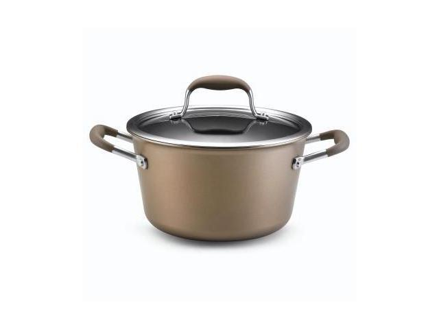 Anolon Advanced Bronze Collection - 4.5 Qt. Covered Tapered Saucepot