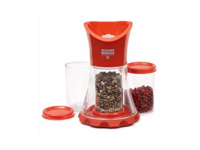 Kuhn Rikon Vase Spice Grinder - Red