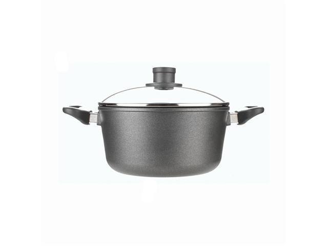 Woll Nowo Titanium 4.75 Qt. Sauce Pot w/ Lid & 2 Side Handles
