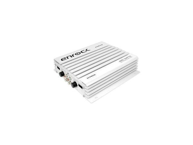Enrock - 4 Channel 400Watt Waterproof MP3 Marine Car Power Amplifier