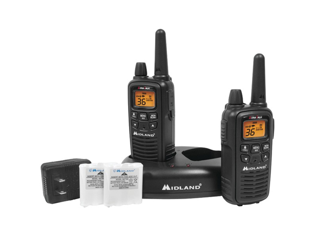 Midland LXT600VP3 Radios with Batteries/Charger