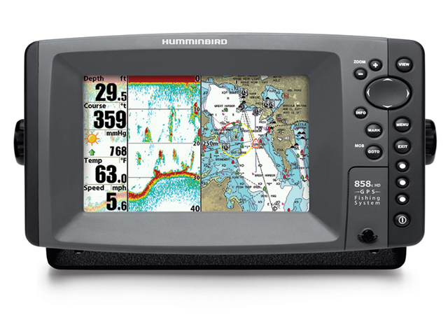Humminbird 858c HD XD Combo