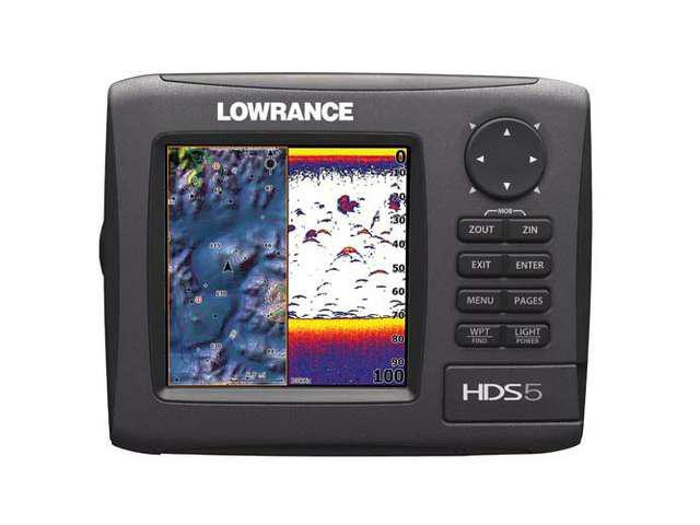 Lowrance HDS-5 Gen2 Lake Insight 83/200kHz w/ Transducer 000-10515-001