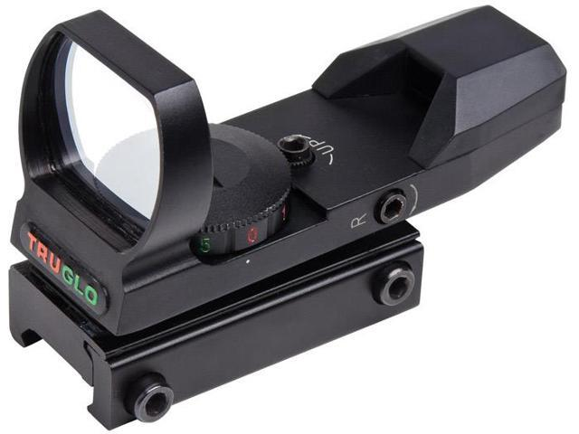 TRUGLO Red-dot Scope Open Dual Color Black TG8370B
