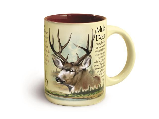 American Expedition Wildlife Ceramic Mug 18 oz - Mule Deer