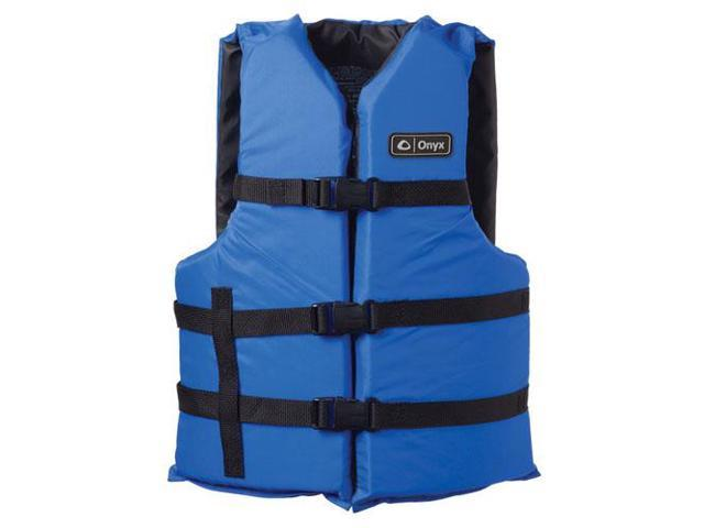 Onyx Adult Boating Vest Blue Universal 3570-0132