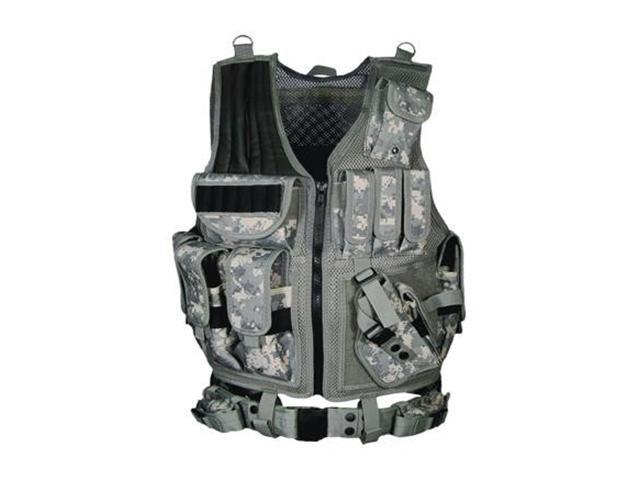 UTG Leapers 547 Law Enforcement Tactical Vest Army Digital PVC-V547RT
