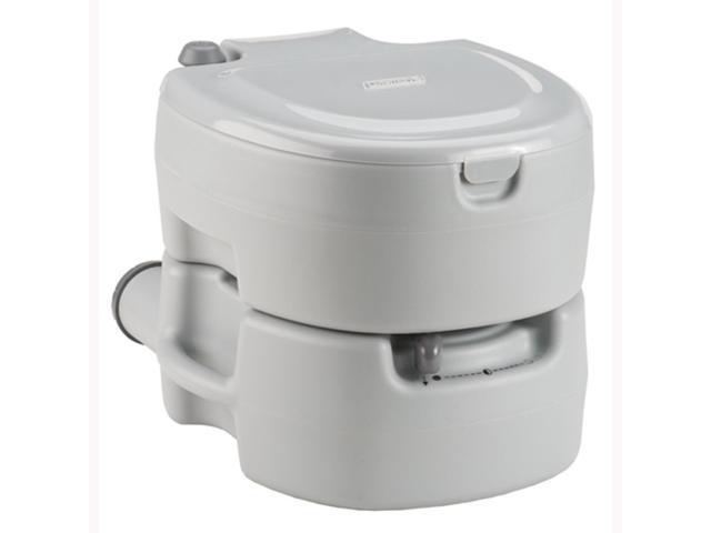 Coleman Large Portable Flush Toilet Grey 2000016503