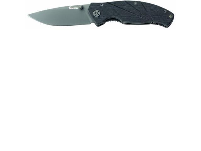 Timberline Knives Large Workhorse knife, Black, 3.25in.