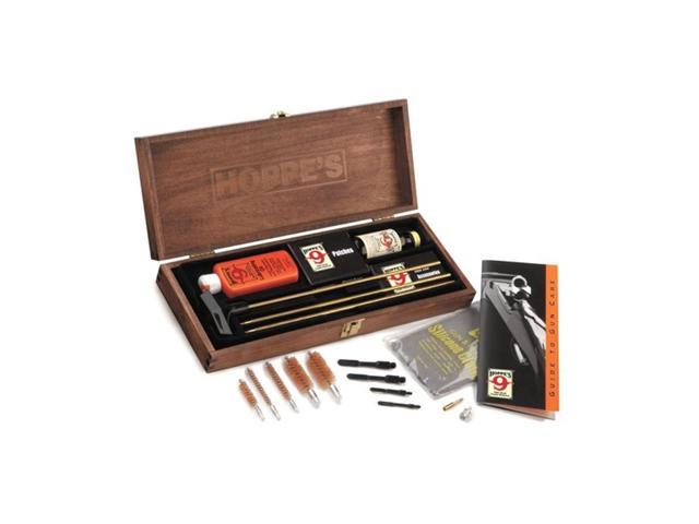 Hoppe's Rifle Shotgun Cleaning Kit in Wood Case BUOX