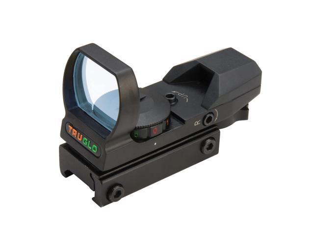 TRUGLO Red-Dot Open 4-Rtcl Blk TG8360B