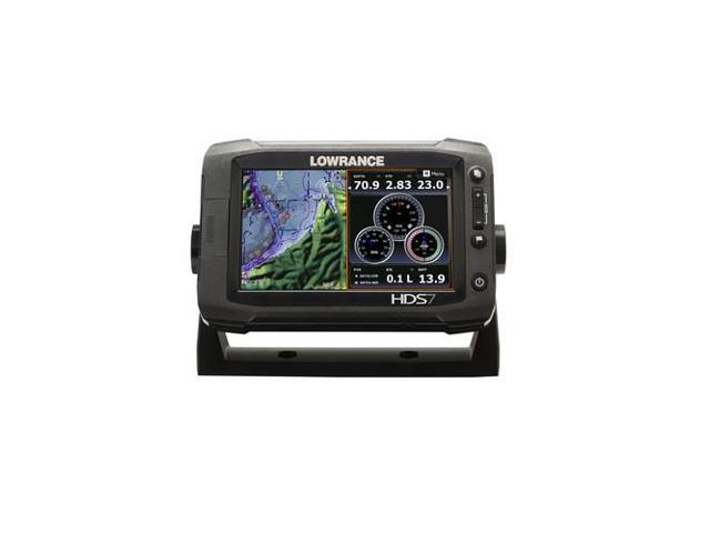 Lowrance HDS-7 Touch Gen2 Insight 83/200 & Stainless Steel XDCR