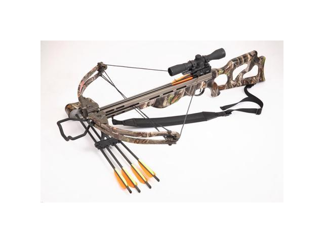 SA Sports Ripper Crossbow Package w/Multi Reticle 4X32 Scope 185 LB 545