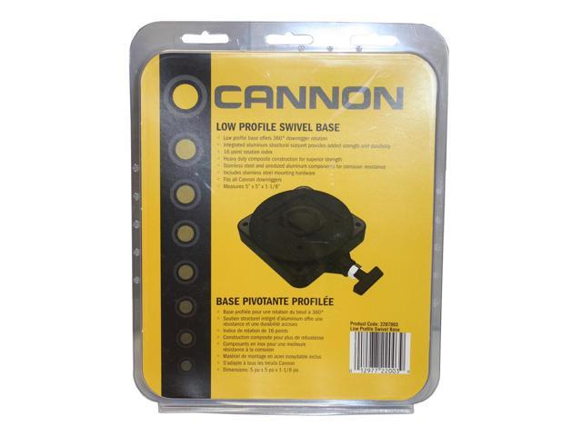 Cannon Low Profile Swivel Base Downrigger Mount 2207003