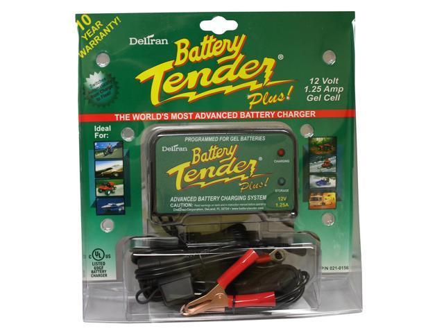 Deltran Battery Tender Plus 12V True Gel Cell Maintainer Charger 021-0156