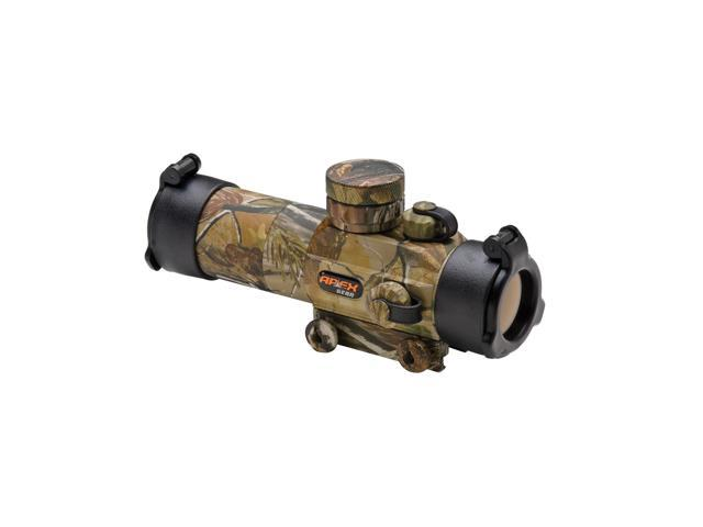 Truglo Apex Gear Red Dot 30MM Camo Crossbow Scope AG8430C3