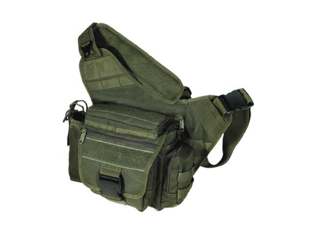 UTG Leapers Multi Function Tactical Messenger Bag OD Green PVC-P218G