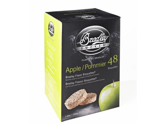 Bradley Smokers 48 Pack Apple Bisquettes BTAP48