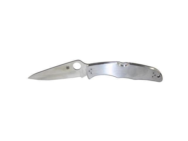 Spyderco Endura 4 Stainless Steel PlainEdge Knife C10P