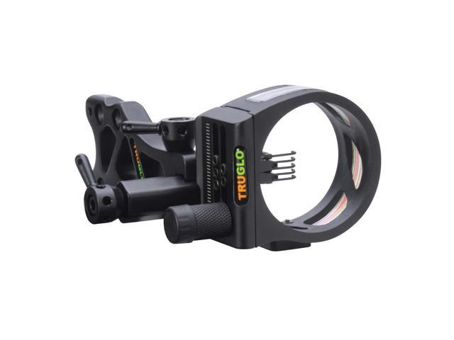 TRUGLO TSX Pro Tooless Sight 5-Pin .019 Black TG7215B