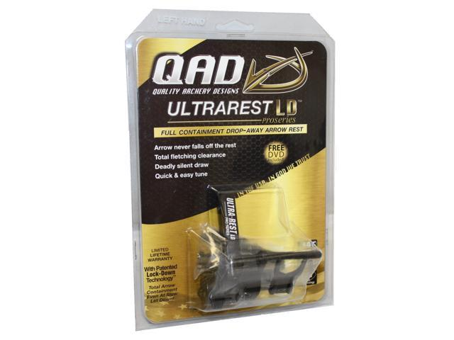QAD Ultra Rest Pro Series LD Arrow Rest Black LH QURL-L