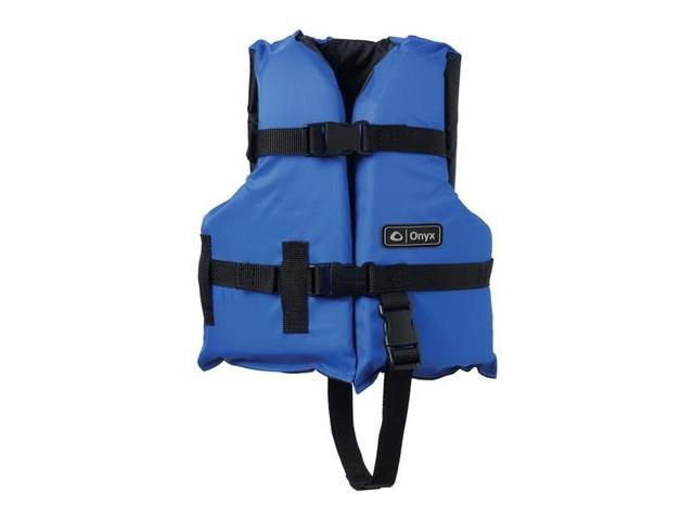Onyx Child Boating Vest Blue Life Jacket 3332-0132