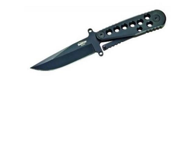Timberline Knives ECS , Drop Point Blade, Black, 3.8in.