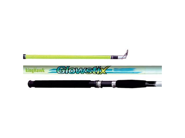 King Hawk GS Glowstix Cast Rod 10'0 2pc MH GS-1029C
