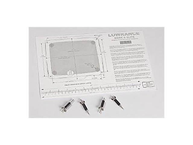 Lowrance Elite/Mark Flush Mount Kit 5'' FM-ME5