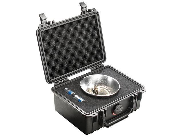 Pelican 1150 Hard Camera Gun Case Silver With Foam