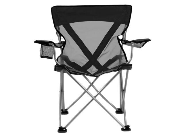 Travel Chair Teddy Camping Chair (300lb. Capacity), Black