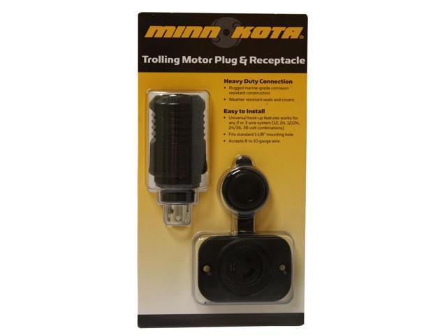 Minn Kota MKR-18 12V Plug & Receptacle