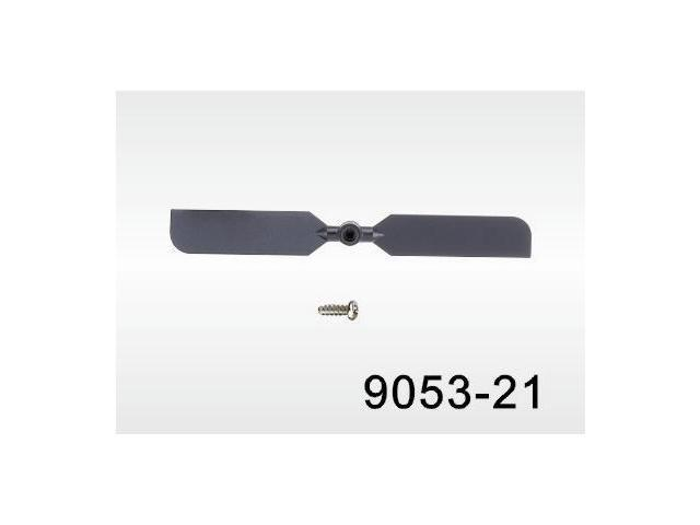 Replacement Tail Rotor Blade 9053-21 For Aerosaur, Volitation RC Helicopter, & Double Horse Brands