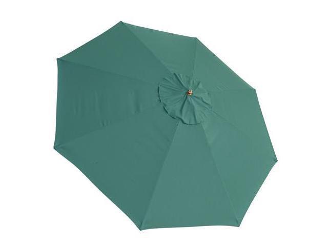 13 Ft Patio Market Umbrella Replacement Canopy Green