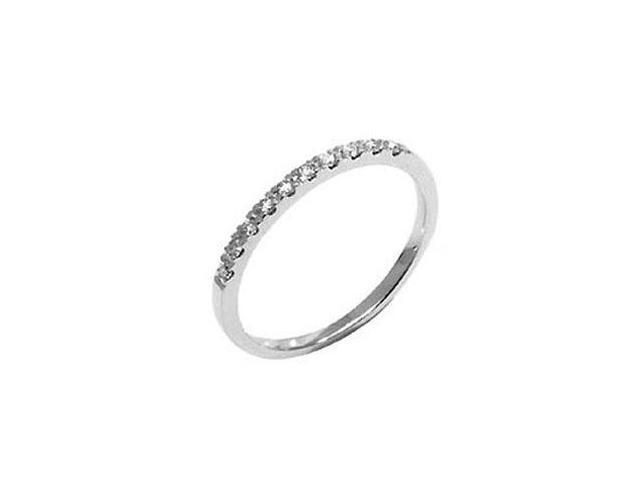 White Gold 1/5 TDW Pave Diamond Band (G-H, I1-I2)
