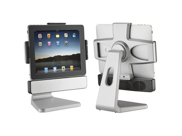 SMK-Link Apple iPad 2 / 3 PadDock 10 version 2 Holder with Speaker , Silver