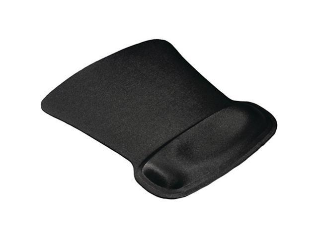 Allsop 30191 Ergoprene Gel Mouse Pad With Wrist Rest, Black