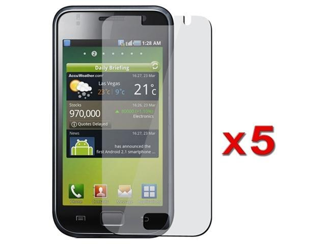 compatible with Samsung© Galaxy S I9000 Lcd Screen Film Protector (5 Pack)