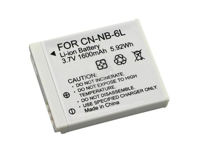 eForCity NB-6L Battery for Canon Powershot EHPH S95+Protector