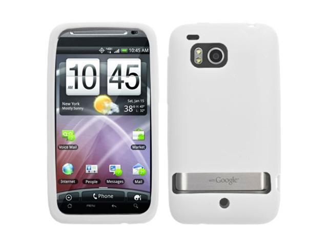 MYBAT Solid Skin Cover (Translucent White) for HTC ADR6400 (Thunderbolt)