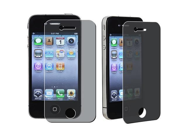 eForCity Privacy Screen Filter Compatible With Apple iPhone 4