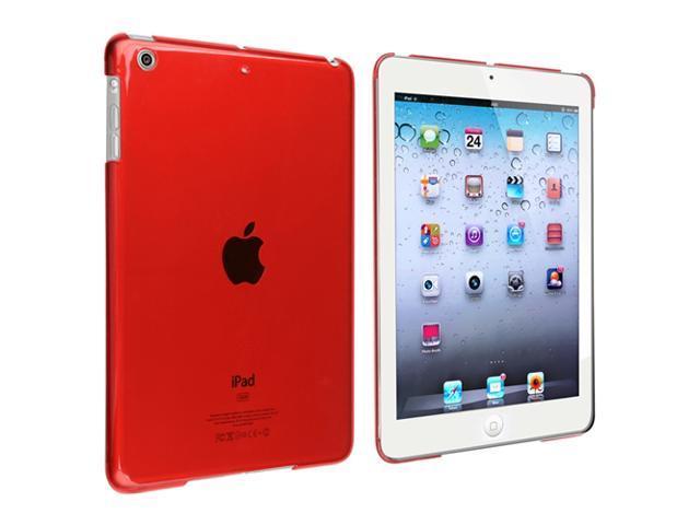 eForCity Snap-on Crystal Case Compatible with Apple® iPad Mini / iPad mini with Retina display (iPad Mini 2), Red