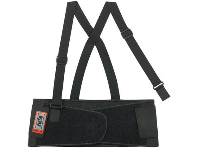 Ergodyne Extra Large Proflex 1650 Black Economy Elastic Back Support Belt