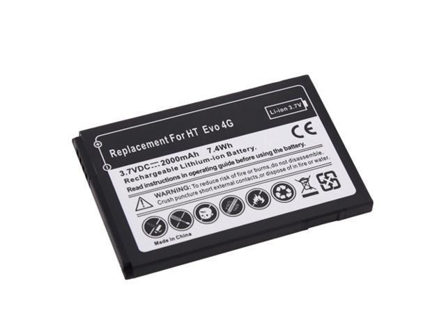 2000mAh Standard Li-ion Battery For HTC Sprint EVO 4G