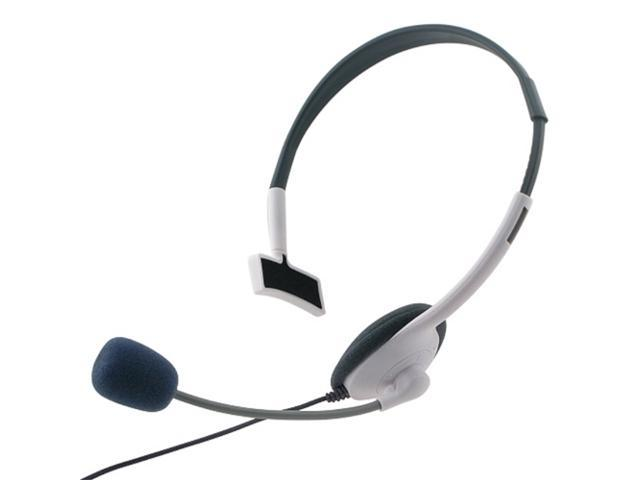 eForCity 5X Headset Compatible With Microsoft Xbox 360/Xbox 360 Slim, White