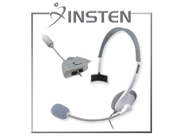 eForCity Headset for Microsoft xBox 360, White